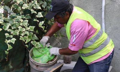 El primer operativo contra el Dengue llegó con prevención y descacharreo a cuatro barrios de Pilar