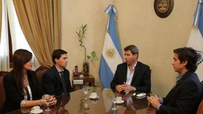 Uñac recibió a Mario Parra, nuevo director del Registro Civil