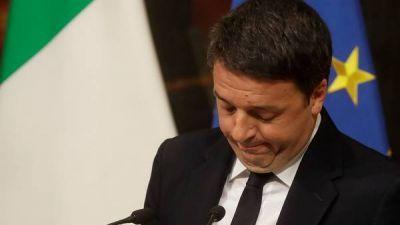 Renzi perdió en Italia el referéndum y anunció su renuncia