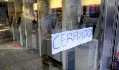 Lunes y martes habrá paro bancario desde las 12 horas por reclamo salarial