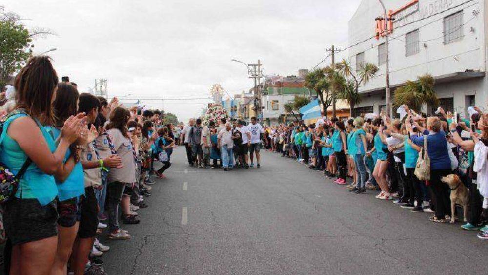 Miles de fieles peregrinaron en la 43° Marcha de la Esperanza