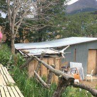 Vuoto recorrió el barrio Kaupén durante una nueva jornada de limpieza y retiro de chatarra