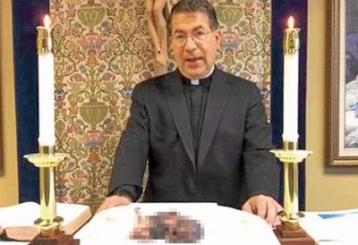 """Mostró un feto en misa y apoya al Papa: """"Su perdón al aborto se interpretó mal"""""""