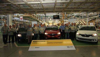 Renault comenzó a producir tres modelos en Córdoba