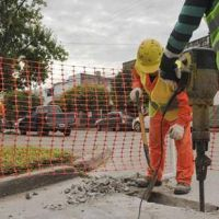 Terminan los trabajos de bacheo en calle San Jerónimo