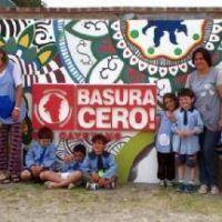 Chicos de La Dulce en la planta de reciclado de residuos urbanos