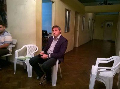 Luciani se presentó en el Concejo por el tema del Hospital