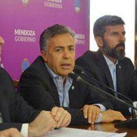 Alfredo Cornejo presentó su plan para modernizar el Estado