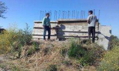 Avance de obras en Cacharí