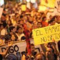 Los anti mineros vuelven a marchar a Plaza 25 de Mayo