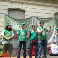 ATE Quilmes acompañó la paritaria estatal en La Plata