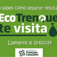 """La dirección de Residuos Sólidos Urbanos comenzará a implementar el programa """"Ecotrenque te visita"""""""