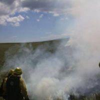 Incendio en la sierra de Ancasti