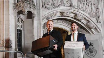 Comenzó la batalla legal en la Corte británica por el Brexit