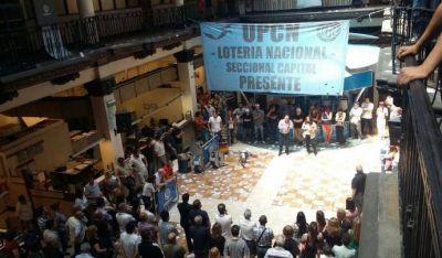 Anuncian paro por tiempo indeterminado en Lotería Nacional