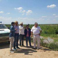 Insfrán monitoreó estado situacional de los ríos Picomayo y Bermejo