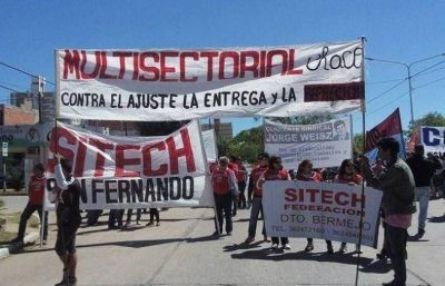 Federación Sitech convoca a una medida de fuerza con movilización