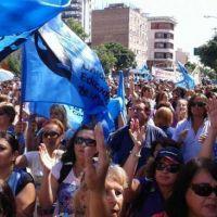 Los docentes se movilizan a Casa de Gobierno