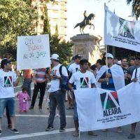 Protesta en la Plaza por el impuesto a los tragamonedas