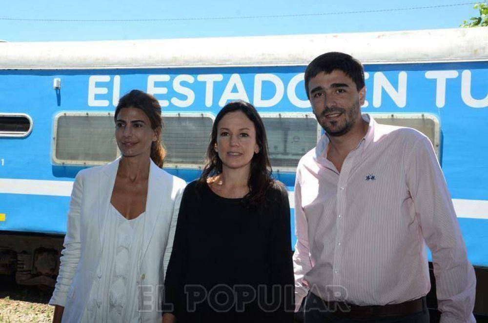 La ministra de Desarrollo Social y la Primera Dama pasaron por Olavarría