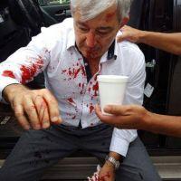 El hijo del Diputado Ramos agredió a Martín Grande