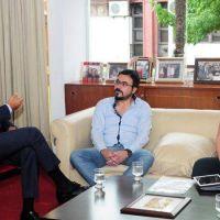 Miguel Isa se reunió con trabajadores de ALEARA