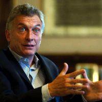 Para hacer Portezuelo, Macri pide garantizar el agua para La Pampa