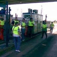Trabajadores de Vialnoa comienzan un corte por tiempo indeterminado