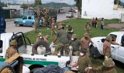 SALUD, MUNICIPIO Y VECINOS CONTRA EL DENGUE