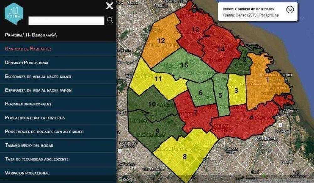 La Ciudad ya tiene su Mapa Interactivo