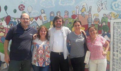"El padre ""Pepe"" se reunió con el equipo santiagueño de la Digaia"