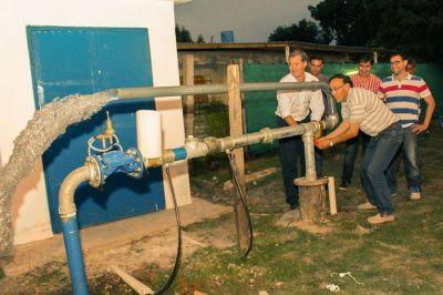 Un nuevo pozo de agua refuerza el suministro de agua potable en Villa María