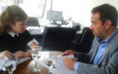 El Intendente Castelli se reunió en el Ministerio de Agroindustria