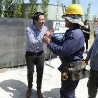 Agua potable y planta cloacal para más de 12 mil vecinos malvinenses