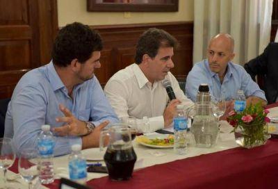 Ducoté se reunió con Ritondo, Burzaco y Milman por llegada de fuerzas federales