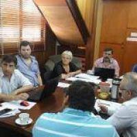 Abatángelo y Sánchez Negrete explicaron a los concejales el aumento de tasas para el año que viene