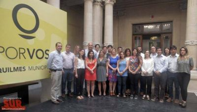 Molina participó del encuentro sobre el sistema de gestión documental electrónica