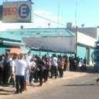 Empleados del Bingo Chivilcoy hacia Buenos Aires