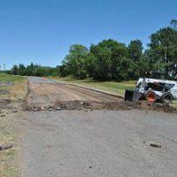 La Municipalidad informó que comenzaron los trabajos de bacheo en el camino de Circunvalación