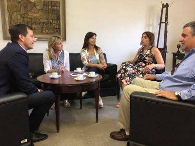 Educación Superior: El intendente Bucca se reunió con referentes de Educación de la Nación