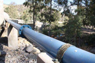 Las cuadrillas de San Luis Agua trabajan en los acueductos provinciales