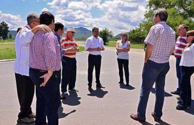 Una obra de pavimentación en la zona norte capitalina beneficiará a vecinos e instituciones