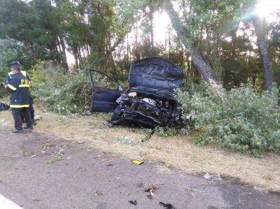 Trágico accidente en la ruta 2: murió otra mujer e identificaron a las víctimas