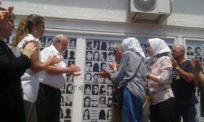 Inauguraron mural de los Detenidos Desaparecidos