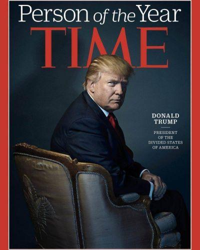 Donald Trump es el personaje del año para Time