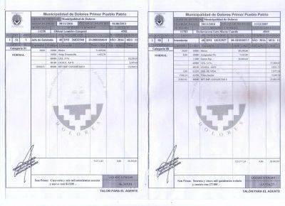 Para evitar malos entendidos, el intendente publicó su recibo de sueldo
