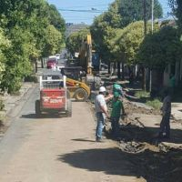 Avance con las obras de desagües pluviales y otras infraestructuras