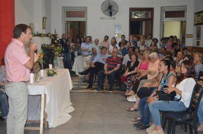 Asumieron las nuevas autoridades de la UCR en Bolívar