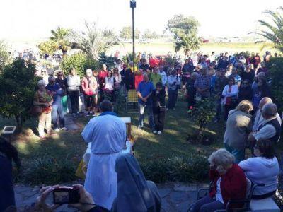 Se realizó una nueva peregrinación hacia la Virgen del Monte de los Recuerdos