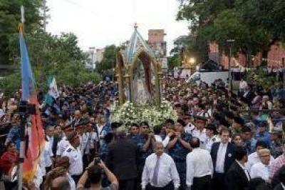 Emocionante demostración de fe a Nuestra Madre del Valle